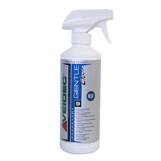 Glattespray for fuging. Gentle Clean. Veidec