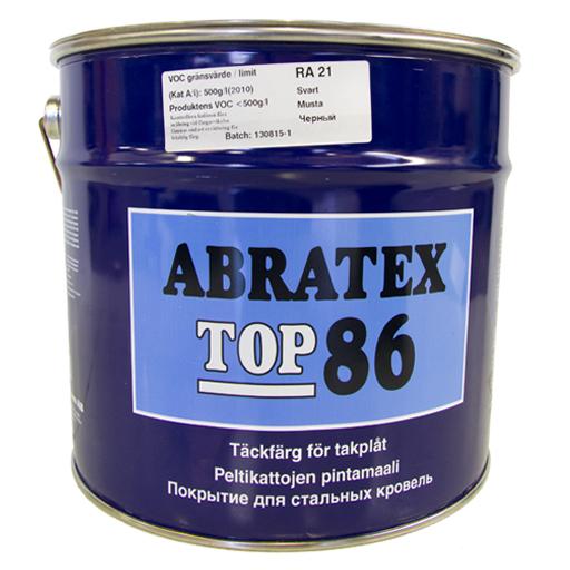 Top86 takmaling. 10 ltr. Abratex - SORT