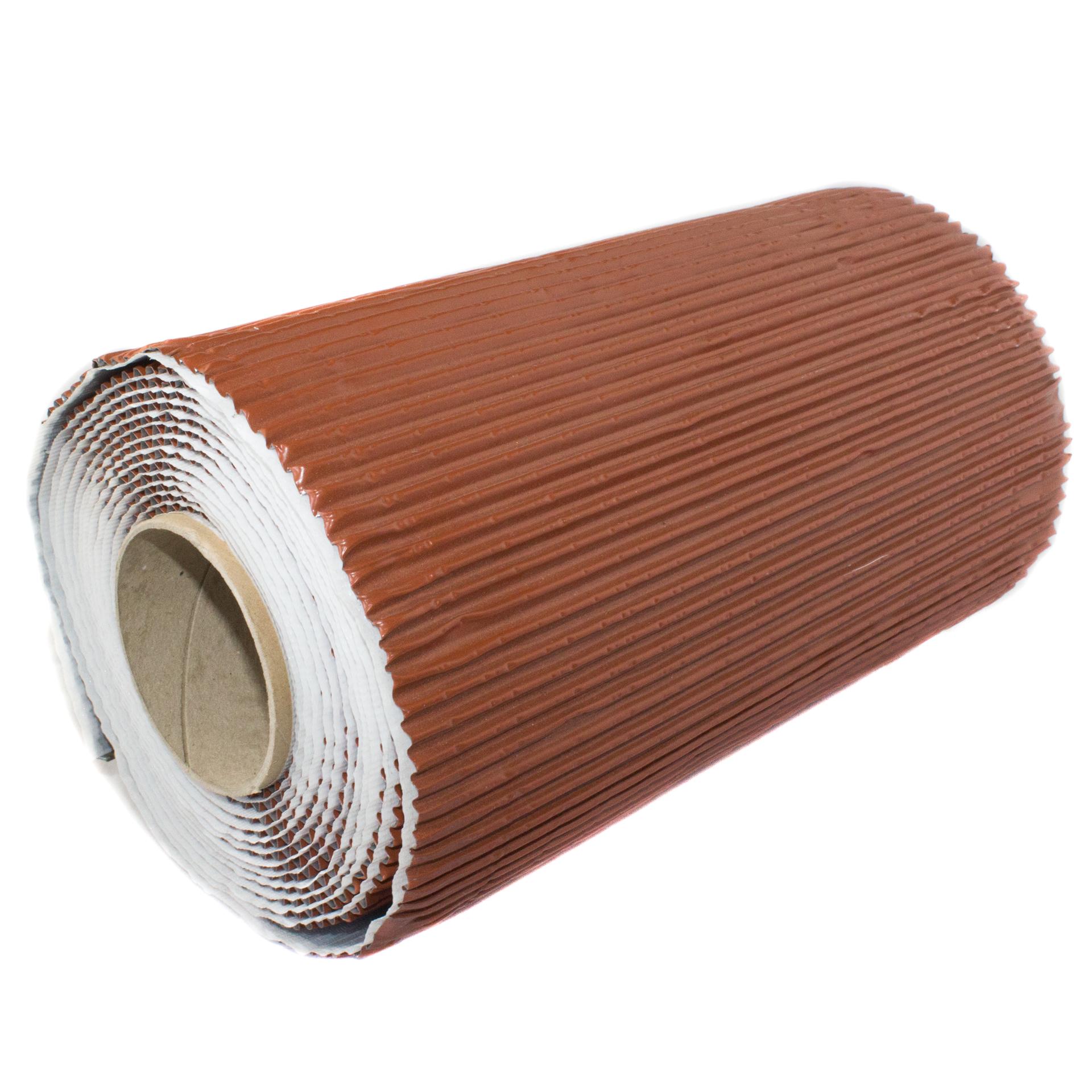 Bleiflex. plisert bly/alu-beslagrull - RØD - Lim og tettebånd