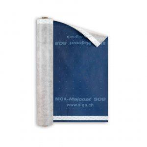 Siga Majcoat SOB.diffusjonsåpent undertak. 1.5x50m - Undertakspapp
