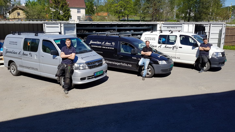 Gunnvaldsen & Sønn team